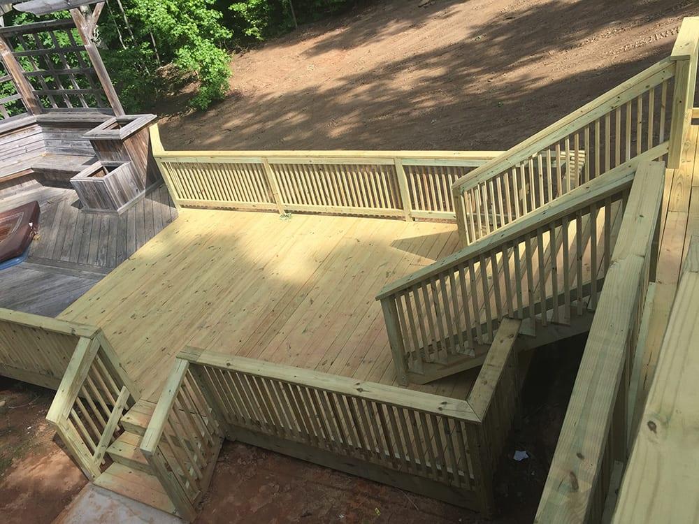 Deck Extension Built In Atlanta, GA