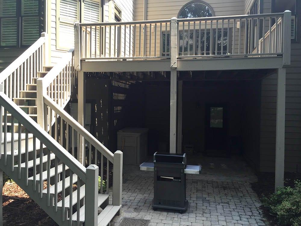 New Deck Built In Alpharetta, GA