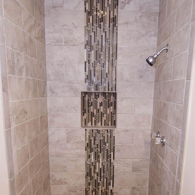 Updated Tile Work In Atlanta Bathroom